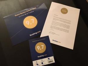 Gold Award Booking 2017
