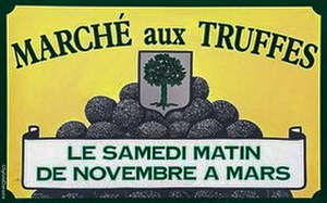 Truffles market Richerenches